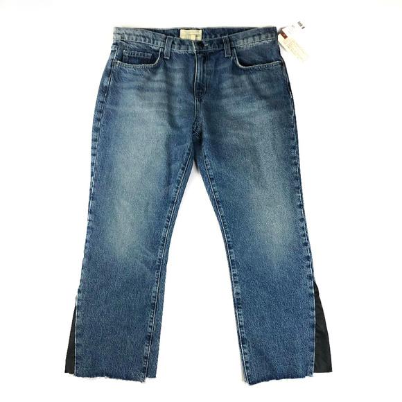 34357e212b Current Elliott The Kick Flare Insert Jeans NWT 31
